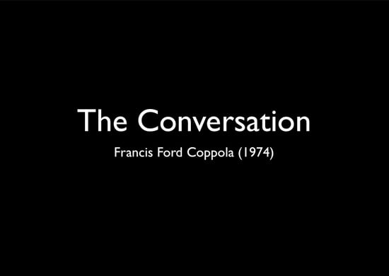 The Conversation presentation
