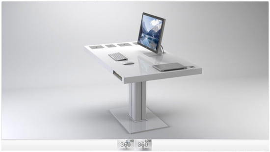 über cool – Milk Desks by @sorenrose