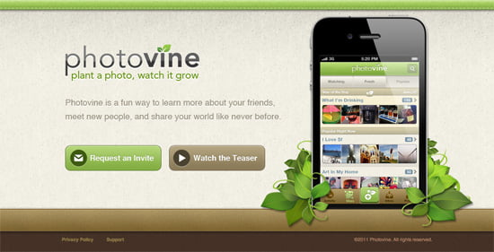 Google Photovine – new photo-sharing social network