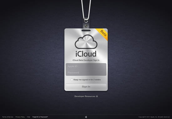 Apple iCloud Beta in Video