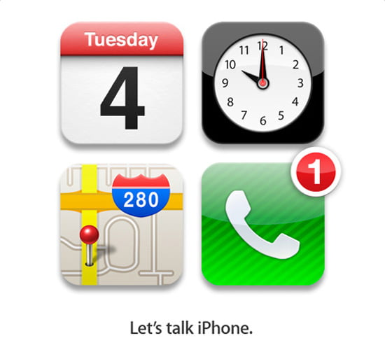 Apple: Let's talk iPhone, 4th Oct.