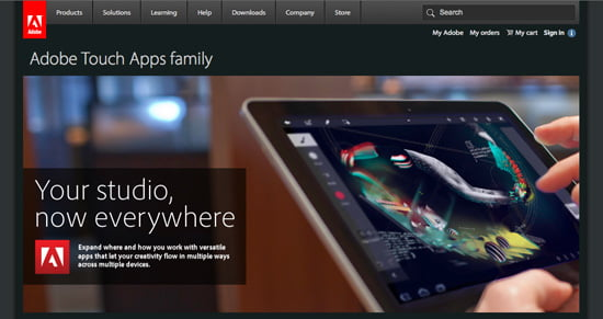 Adobe release Touch Apps Family