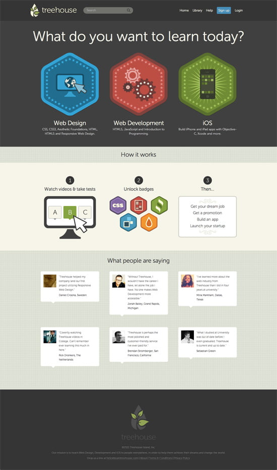 Learn Web Design, Web Development, and iOS Development - Treehouse (2011-11-07)