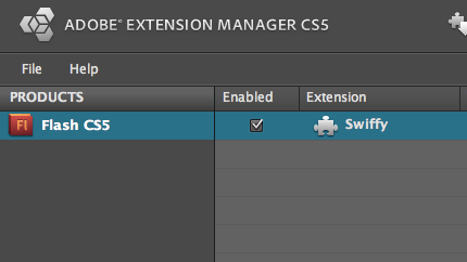 Google Swiffy Extension for Adobe Flash Professional