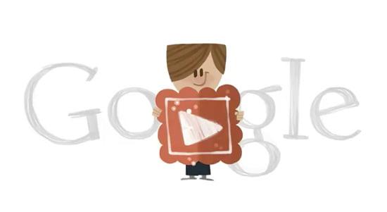 Valentine's Day Google Doodle