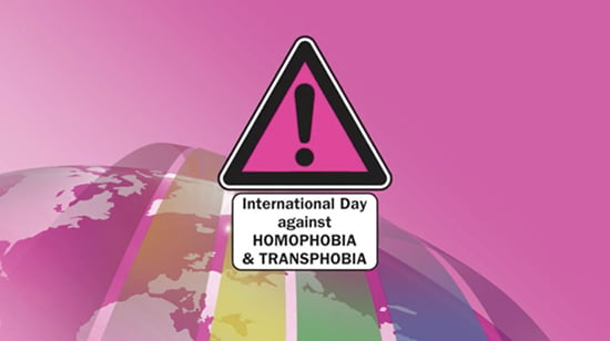 International Day against Homophobia and Transphobia (IDAHO), today!