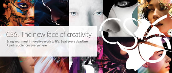 Adobe Creative Suite 6 Now Available