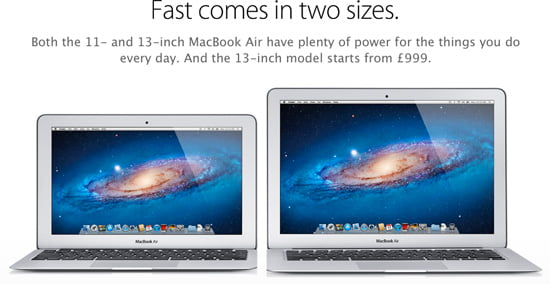 MacBook Air - The ultimate everyday notebook.
