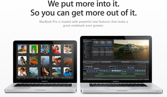 Apple Updated MacBook Pros