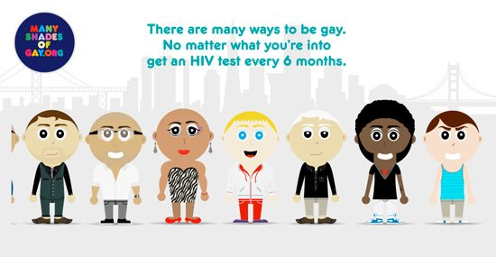 Many Shades of Gay