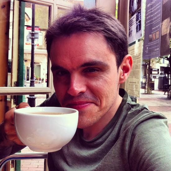 A cup of tea with Simon Brandon