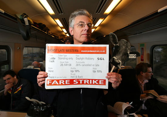 Rail fares will rise by 6.2% – with Figures from Sevenoaks