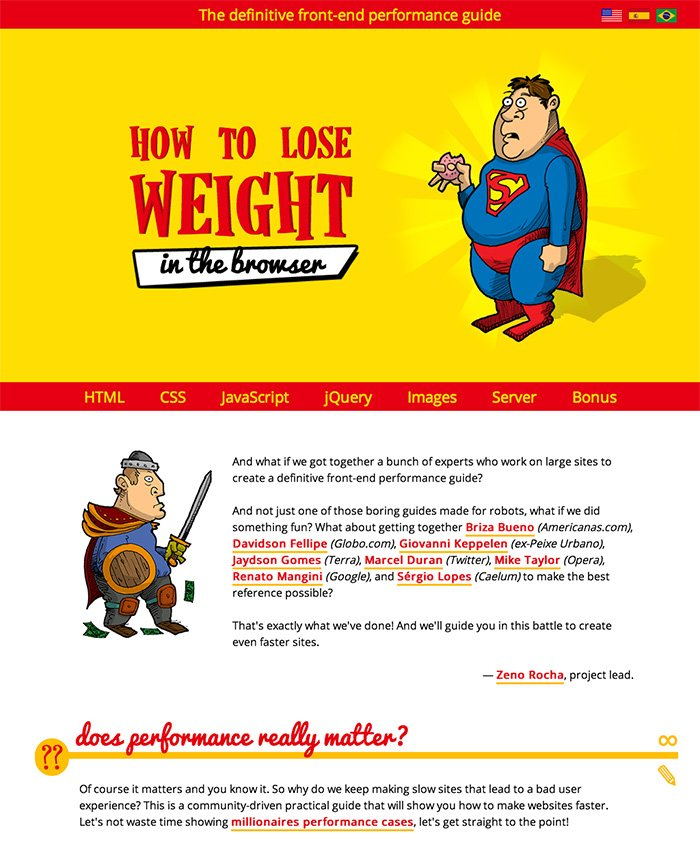 How To Lose Weight (in the browser)