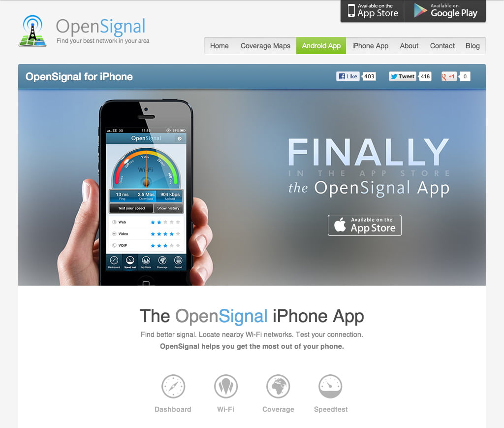 opensignal for iphone  finally       april 18th  2013