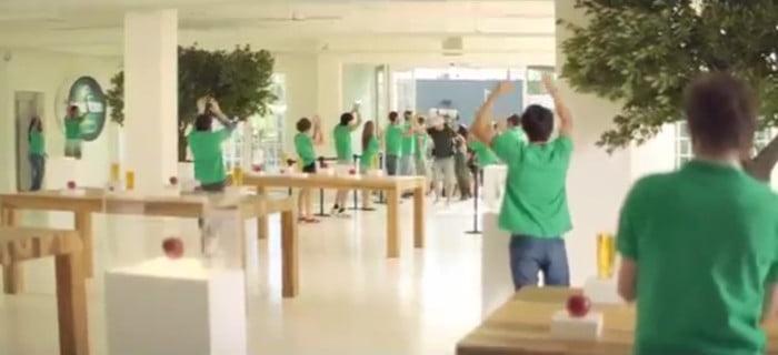Somersby Cider – mock Apple advert