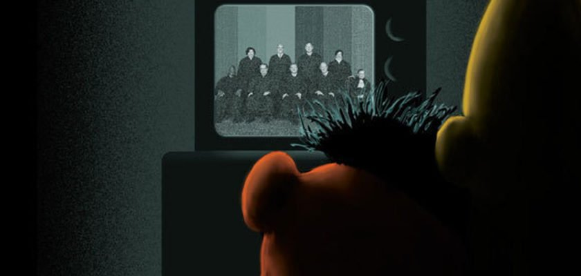 The New Yorker features Sesame Street's Bert and Ernie