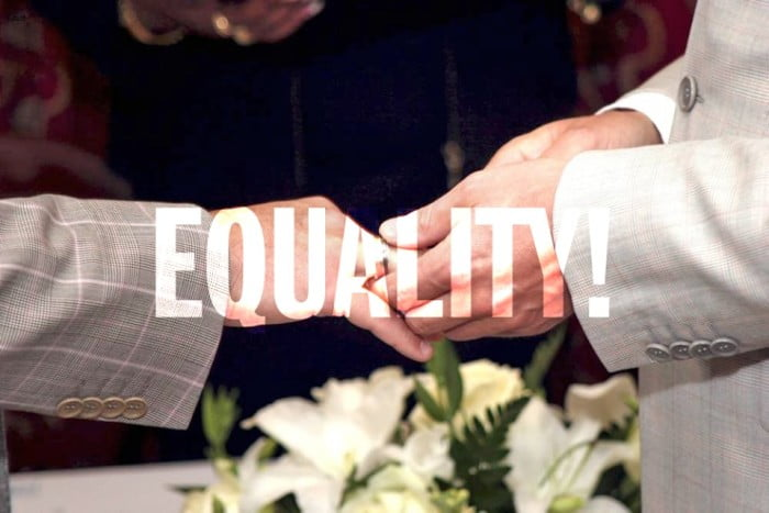 Equal marriage is now law!
