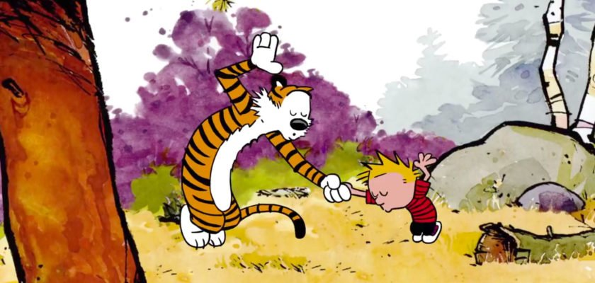 Calvin and Hobbes dance