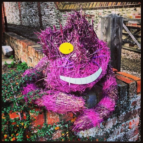 Who knew Bagpuss has retired to Hagbourne Village?