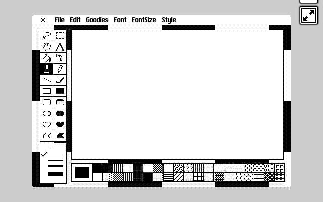 MacPaint is Back at Long Last with Cloudpaint