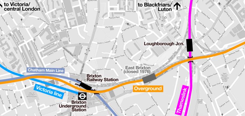 Brixton rail lines