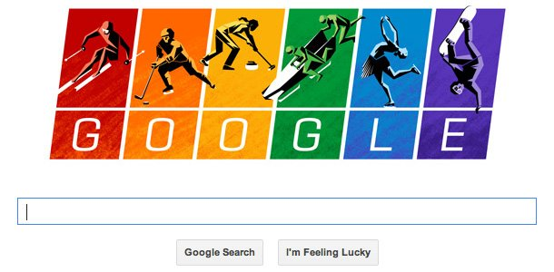 Google' Olympic spirit
