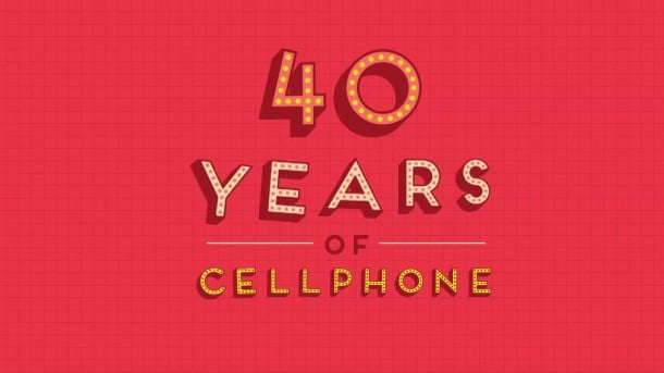 40 Years of Cellphone by Amrit Pal Singh