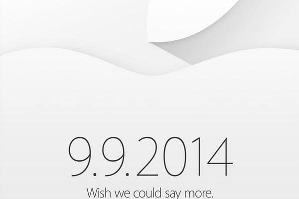 Apple makes September 9 event official