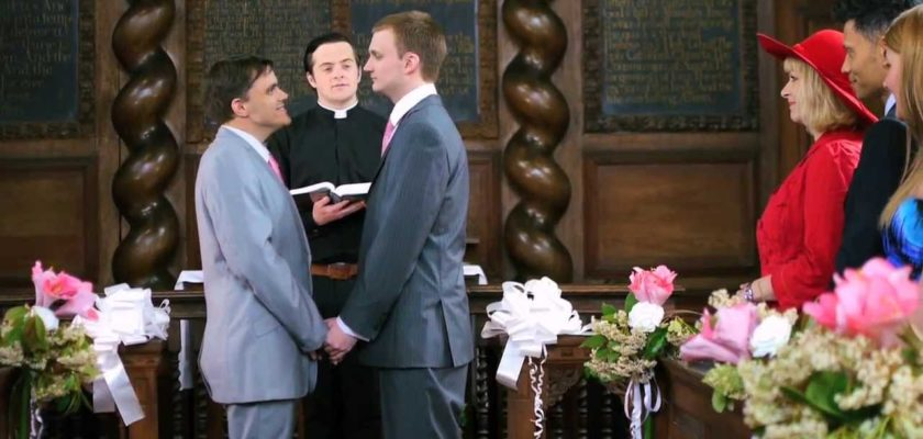 No Fags in Church? Not any more!