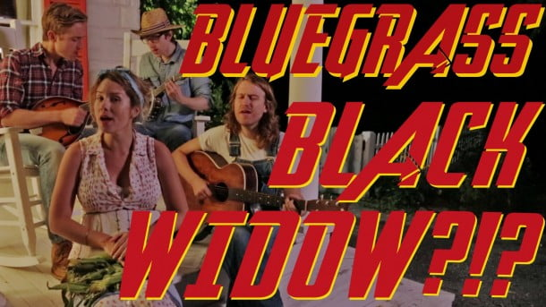Black Widow Bluegrass Cover – Minor to Major!