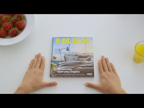 Experience the power of a cookbook™ – IKEA Catalogue