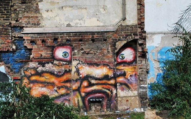 Wall With Eyes by apollobelladona
