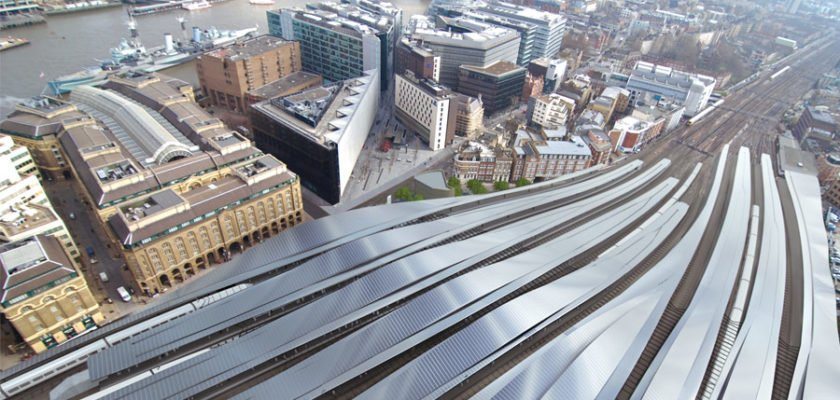 London Bridge Station - View Over Canopies