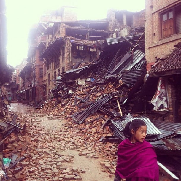 """Growing up in Kathmandu was magical"" by @sachindrarajbansi"