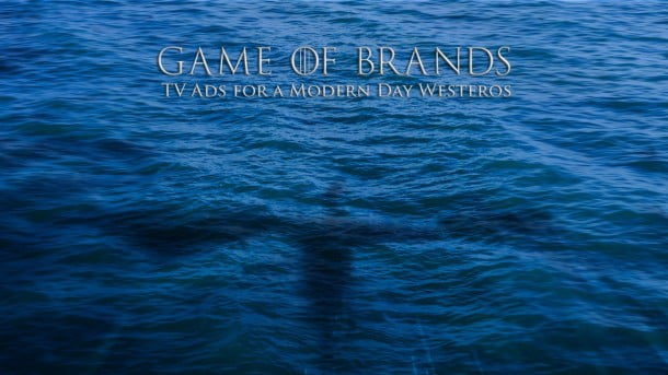 Game of Brands: TV Ads for a Modern Day Game of Thrones by Shutterstock