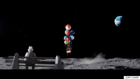 #ManOnTheMoon – John Lewis Christmas