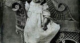 Vintage Creepy Halloween Children