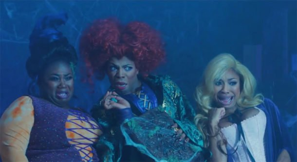 Todrick Hall brings back the Sanderson Sisters for hilarious Hocus Pocus parody