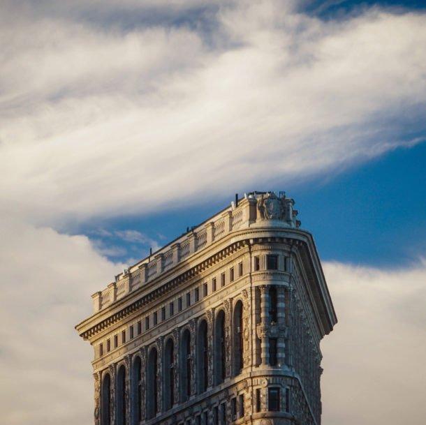 Daniel Burnham's Flatiron Building, New York, NY by Jeffrey