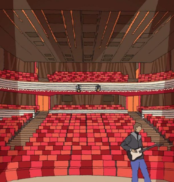 Artist's impression of revamped Orchard Theatre